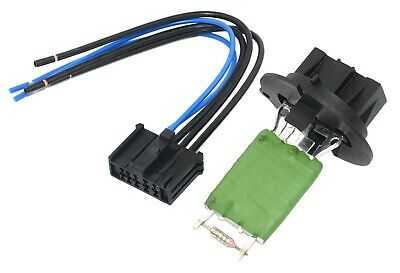 PEUGEOT 307 HEATER BLOWER RESISTOR & ELECTRICAL CONNECTOR AND LOOM 6445KL