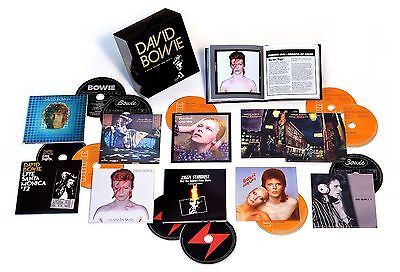 "David Bowie ""Five Years 1969-1973"" 12 CD Box Set Collection"