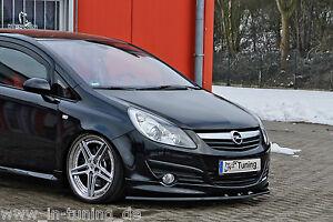 Sonderaktion Spoilerschwert Frontspoilerlippe ABS Opel Corsa D GSI OPC-Line 1