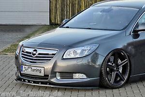Spoilerschwert Frontspoilerlippe Cuplippe aus ABS Opel Insignia OPC-Line mit ABE