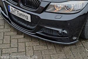 Sonderaktion Spoilerschwert Frontspoiler Lippe ABS BMW E90 E91 3er M-Paket ABE