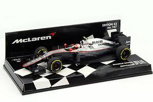 Jenson Button McLaren MP4-30 #22 Australian GP Formel 1 2015 1:43 Minichamps