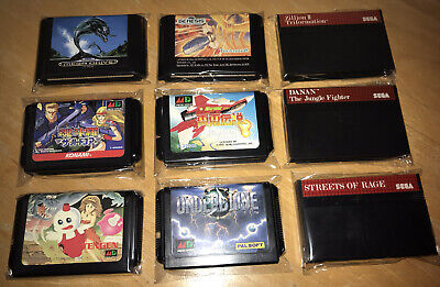 50 Protective Wraps Sleeves 4 Sega Mega Drive Genesis & Master System...