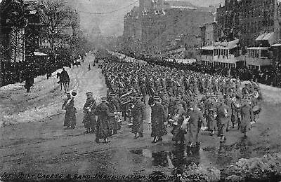Washington DC West Point NY Cadets Band Traipse in Slush~Taft Inauguration 1909