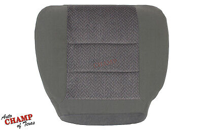2002-2004 Ford F250 F350 XLT Quad-Cab -Driver Side Bottom Cloth Seat Cover Gray - Ford F250 Seat