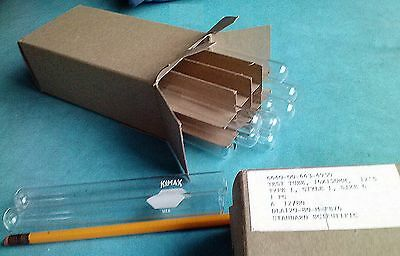 24 NEW 1980 VINTAGE 2 Box of 12 Kimax 20ml Glass Test Tubes 16X150mm Rimless 6