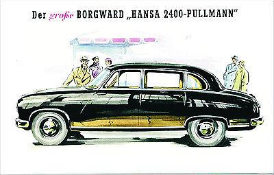 Blechschild 20 x 30 cm, Borgward, Nostalgie