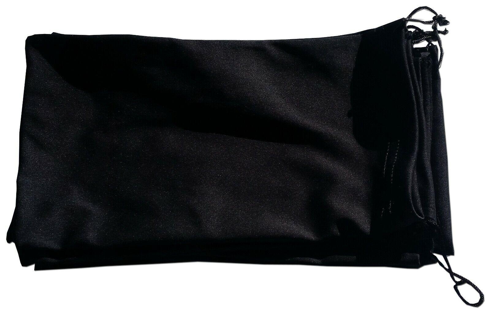qty 240 ski goggle pouch black microfiber