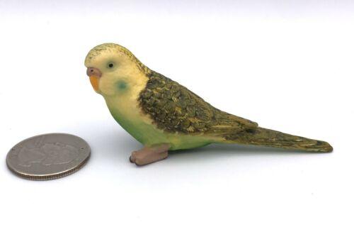 Schleich GREEN PARAKEET Budgie Bird Retired Animal figure 14408 Budgerigar