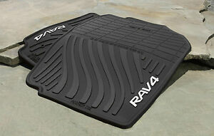 Genuine Toyota Rubber All Weather Floor Mats For 2007 2012