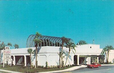 Florida Orlando Winter Park Mall Creighton's Garden Restaurant 1966 (Gardens Mall Florida)