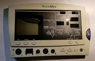 Welch Allyn Patient Monitor - 6200 Series Front Panel