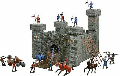 Vinsani Children Playset Kids Castle Knights Creative Imaginative Toy 3 Years+