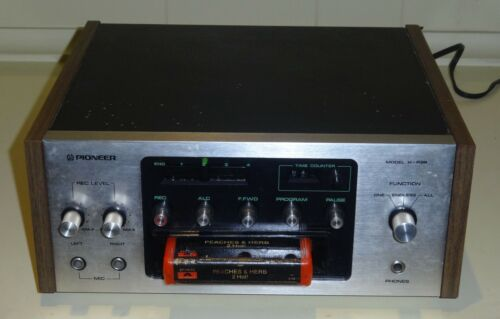 Pioneer H-R99 8-Track Tape Recorder TESTED WORKS GREAT Same Day Shipping