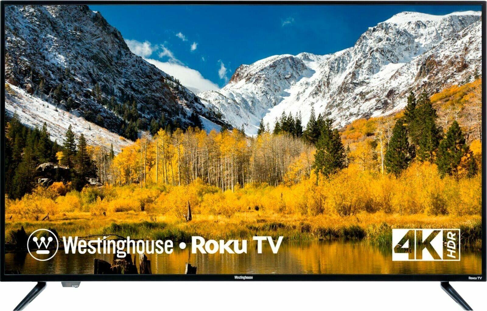 "50"" Westinghouse TV - LED 2160p Smart TV 4K UHD TV with HDR - Roku TV"