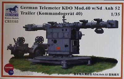 Bronco Models 35103 - German Telemeter KDO Mod. 40 with SdAnh 52