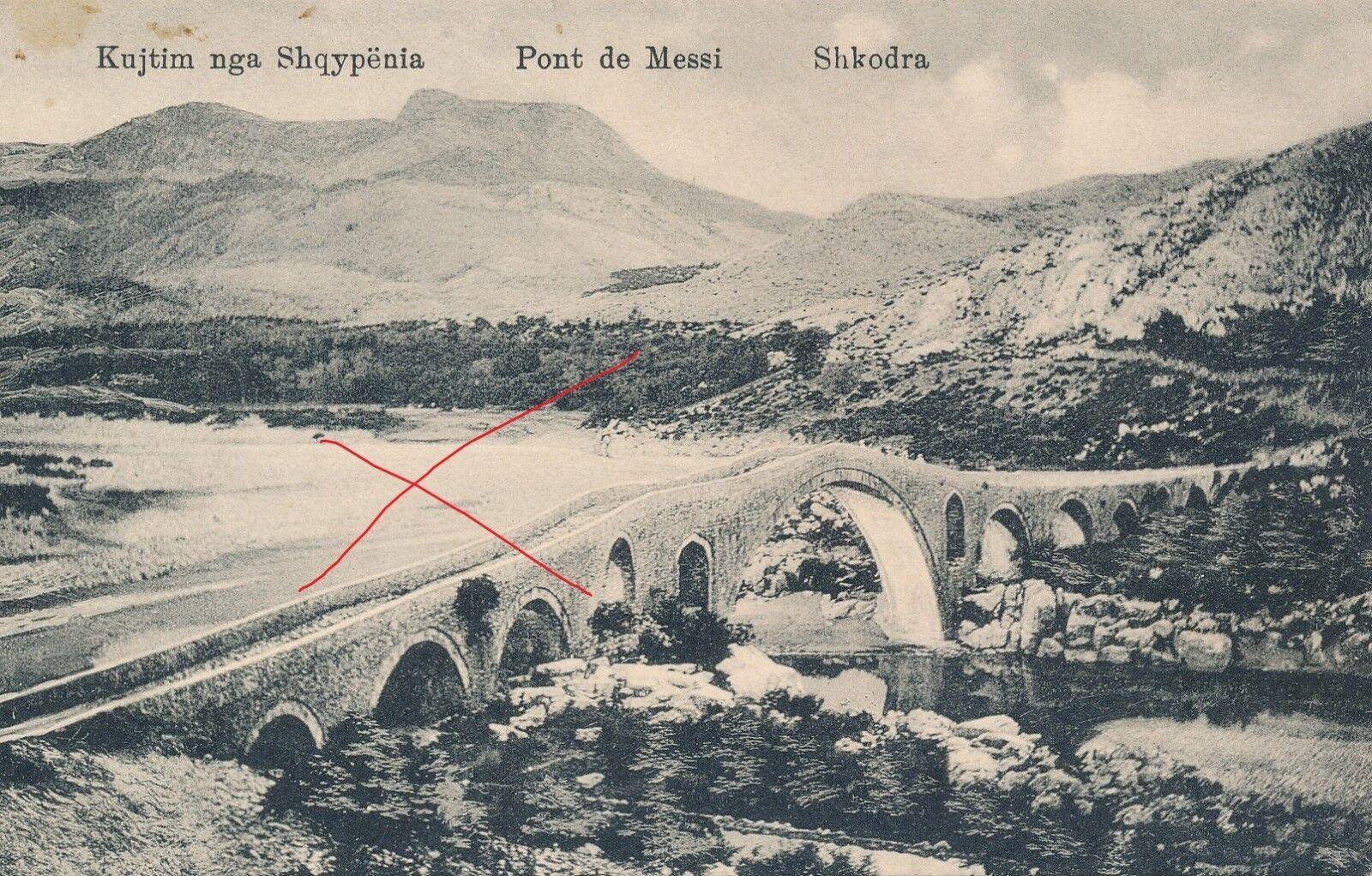 Nr 14450 PK Kujtim nga Shqypenia Pont de Messi Shkodra Albanien  Bosnien