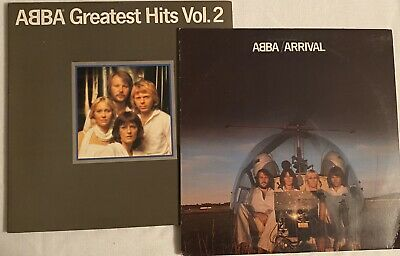 ABBA - Lot of 2 - Arrival and Greatest Hits Vol 2