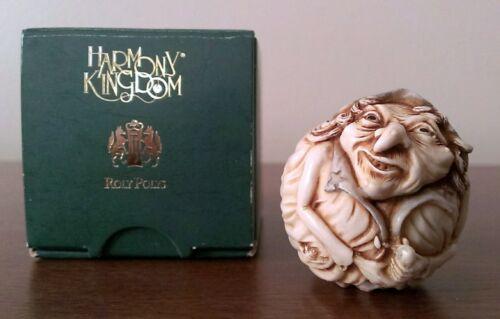 RARE Harmony Kingdom HILDA Witch HARD BODY Halloween Roly Polys Adam Binder