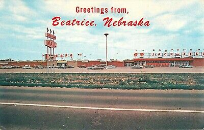 1960s Indian Creek Mall, Jack and Jill Grocery Store, Beatrice Nebraska (Creek Mall)
