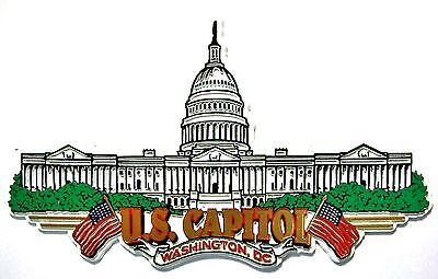United States Capitol Washington D C  Fridge Magnet