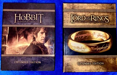 The Lord Of The Rings The Hobbit EXTENDED Blu-ray Trilogy - $79.95