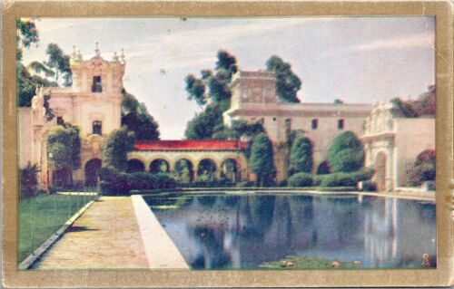 The Lily Pond California Pacific International Expo 1935 Vintage Postcard