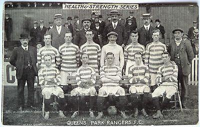 QUEENS PARK RANGERS F.C. 1911-12 – ORIGINAL VINTAGE FOOTBALL POSTCARD