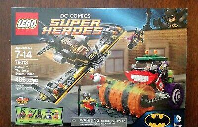 LEGO Batman The Joker Steam Roller 76013 Batgirl Robin NIB