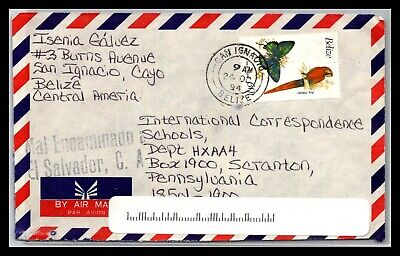 GP GOLDPATH: BELIZE COVER 1994 AIR MAIL _CV676_P06
