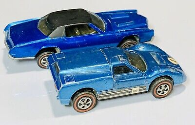 Hot Wheels Redline Medium Blue Ford J-Car