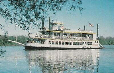 "*Missouri Postcard-""The Riverboat Mark Twain"" /Enjoying Cruises/"
