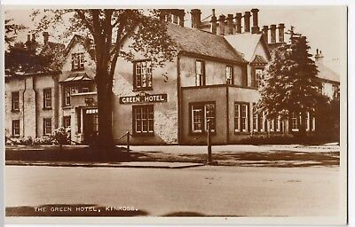 Kinross-shire; The Green Hotel, Kinross RP PPC, Unposted
