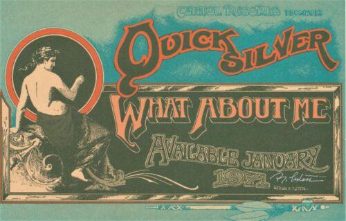 Quicksilver Messenger Service Randy Tuten SIGNED 1971 Capitol Records Promo Card