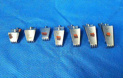 Codman Set Of 13 Retractor Blades