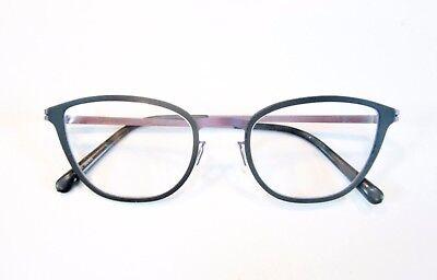 MODO Titanium Eyeglass Frames Dark Lavender and Black