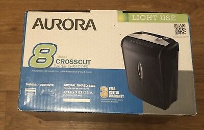 Aurora Paper Shredder