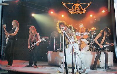 RARE AEROSMITH LIVE STAGE 1979 VINTAGE ORIGINAL MUSIC POSTER