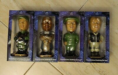 Stargate SG-1 Hand Painted Bobble Head Set Lot Of 4 Different Figure Collectible