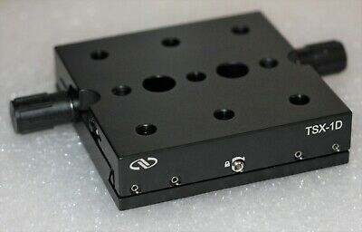 Newport Tsx-1d Dovetail Linear Translation Stage 1 Range