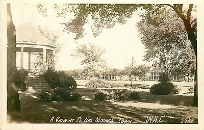 Iowa  Ia  Ft Des Moins  Wac  Womens Army Corps  1940S Real Photo Postcard