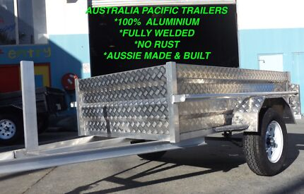 7X4 AUSSIE MADE ALUMINIUM BOX TRAILER FULLY WELDED NO RUSTING! Gold Coast City Preview