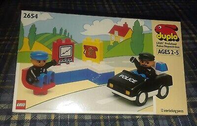 Vintage Lego Duplo Police Set 2654 Police Emergency Unit Unopened. Great Gift