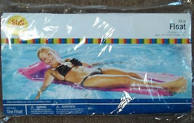 "NEW pink 72"" pool float by SUN SHINE ages 14+"
