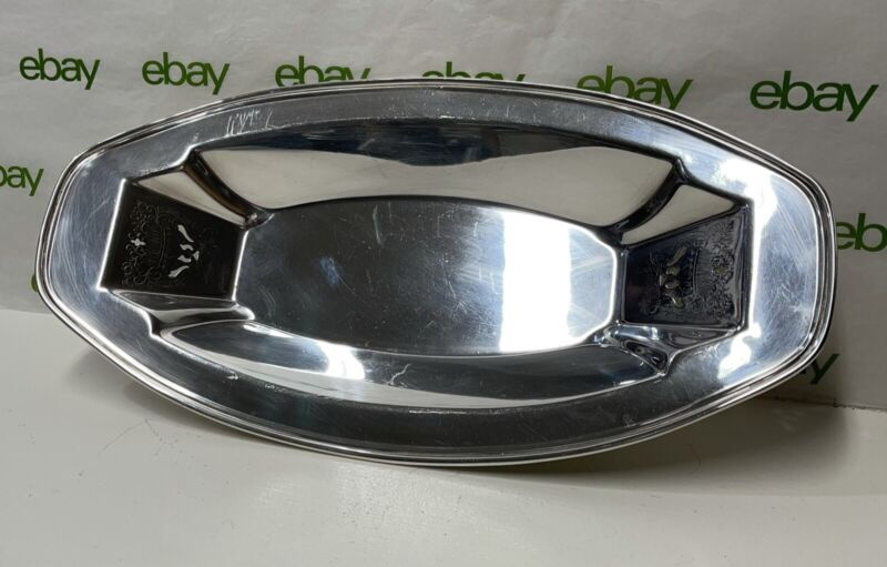 ANTIQUE Quadruple Silver plated Tray...1911