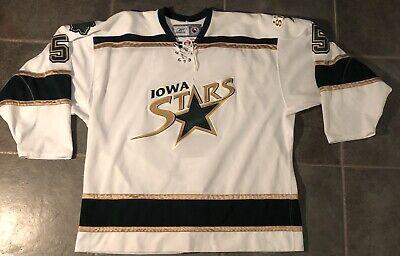 official photos e9177 40ebf Iowa Stars MARK FISTRIC Autographed AHL Game Worn Reebok Jersey Dallas Stars