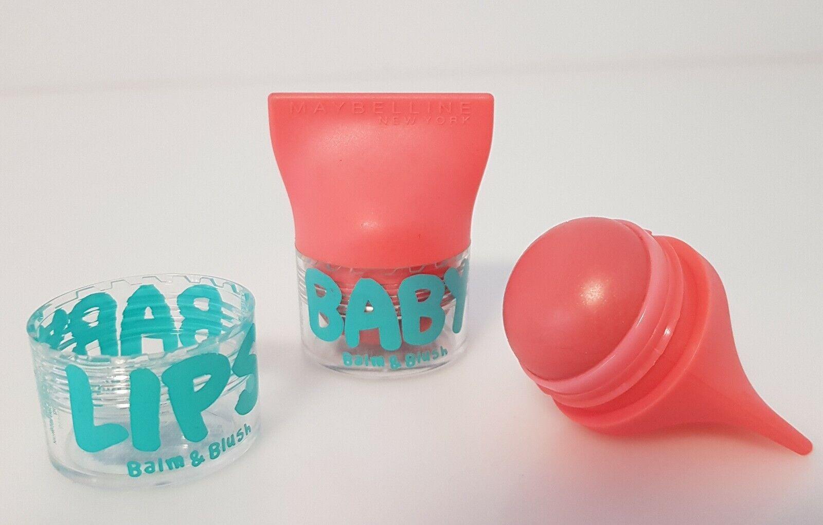 Maybelline Baby Lips Balm & Rush Lippenbalsam Lippenpflege 01 Innocent Peach