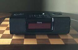 Apple iHome Ih8 Clock Radio Speakers for iPod (black)