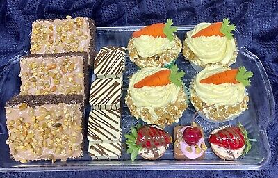 Faux Fake Food Desserts Sweets Tray Table Store Display Home Stage Movie Prop