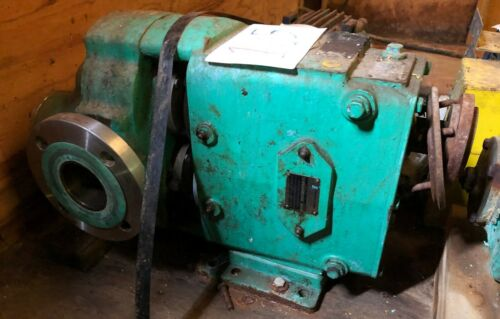 "Waukesha 2.5"" 5060 Positive Displacement Pump w/5 HP Motor & Gearbox (Item #105)"